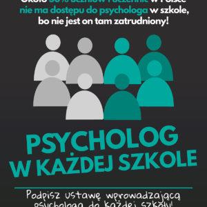 psycholog plakat