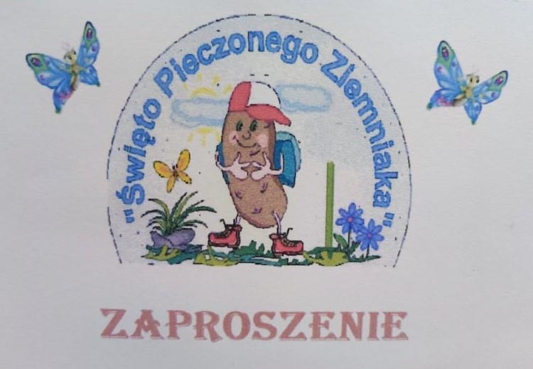obrazek dekoracyjny - święto pieczonego ziemniaka